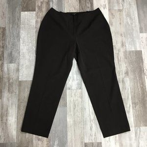 Talbots Brown High Rise Curvy Pants JA14